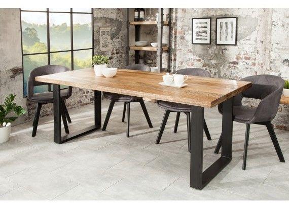 Stół drewniany Nori 160 cm 45 mm Mango