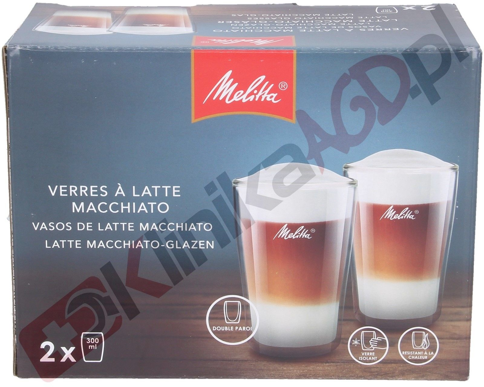 Termiczna szklanka do espresso Melitta 80ml - 2 szt