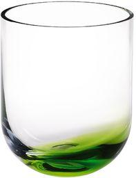 Pasabahce wazon szklany, zielony