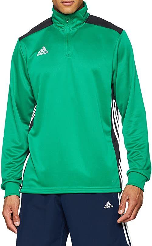 adidas Męska bluza REGI18 TR Top Bluza, Bold Green/Black, S