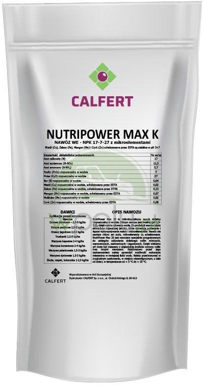 NUTRIPOWER MAX K 17.7.27+1MgO+ME 2,5KG