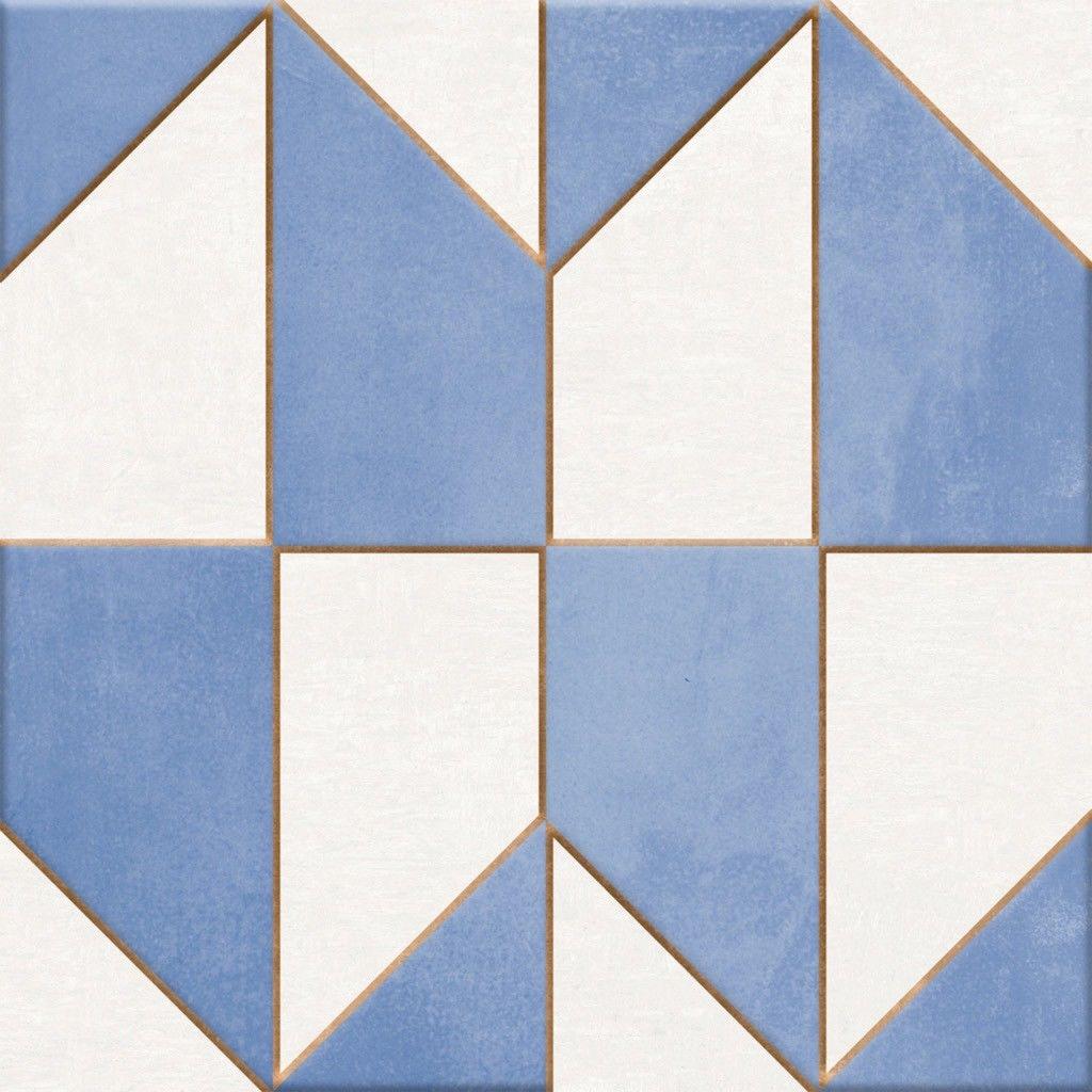 Mudejar Azul 25x25 płytka dekoracyjna