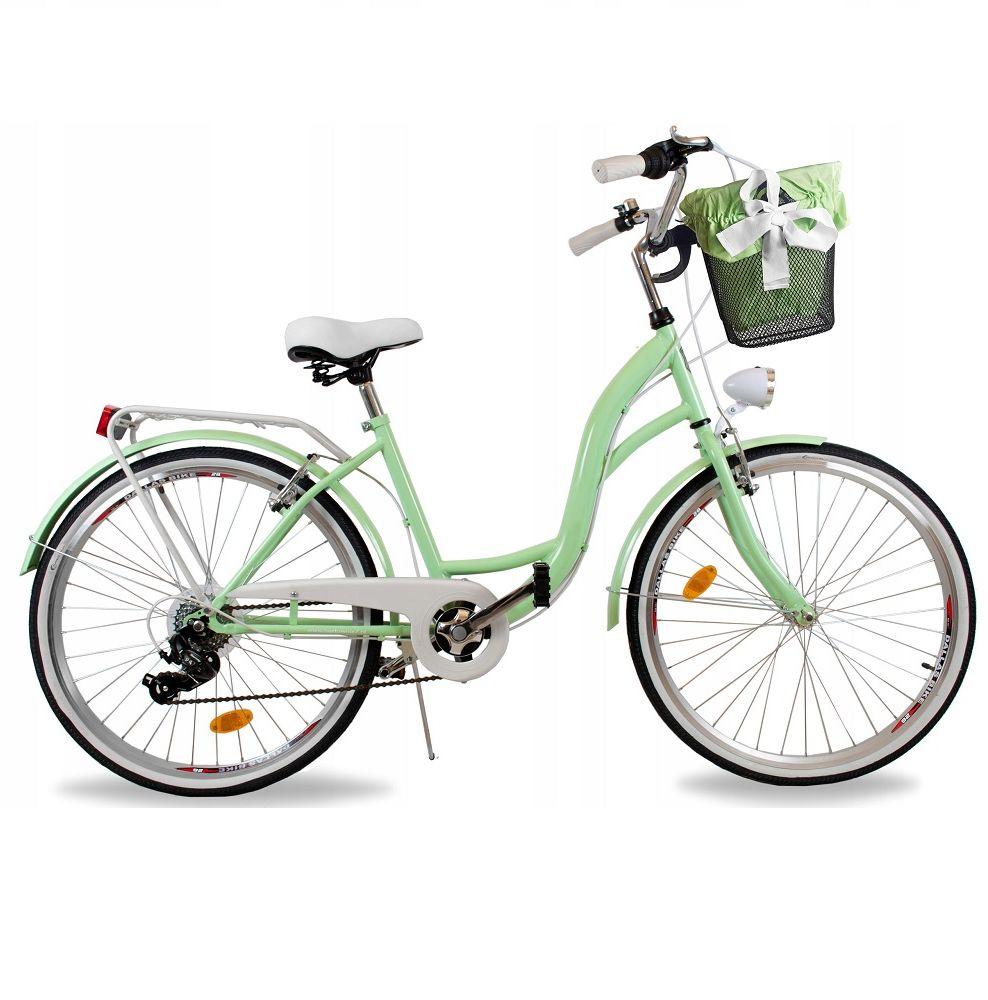 Rower Alice 28 R19 M Da 2021 pistacjowo-biały