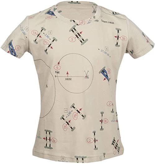 HKM Unisex spodnie T-shirt -San Luis Parcour-2500 niebieski 2500 Beige 122-128