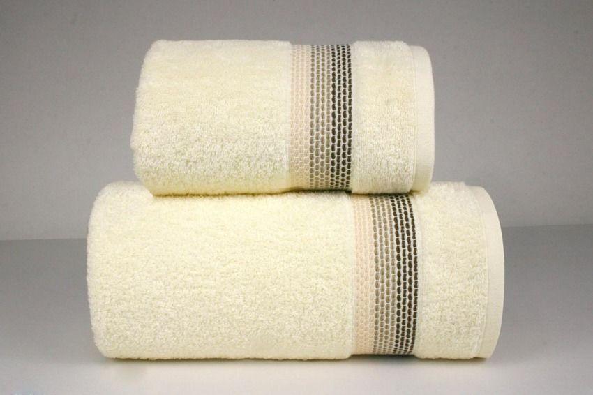 Ręcznik bawełniany Greno Ombre Kremowy