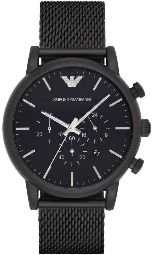 Zegarek Emporio Armani AR1968 - CENA DO NEGOCJACJI - DOSTAWA DHL GRATIS, KUPUJ BEZ RYZYKA - 100 dni na zwrot, możliwość wygrawerowania dowolnego tekstu.