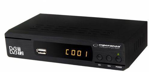 Tuner cyfrowy DVB-T/T2 Esperanza EV104