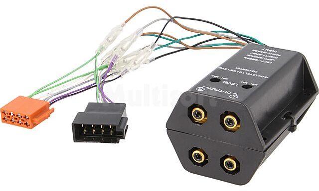 Adapter ISO 4 kanały audio