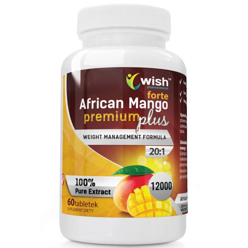 WISH African Mango Premium Plus Forte 60tabs