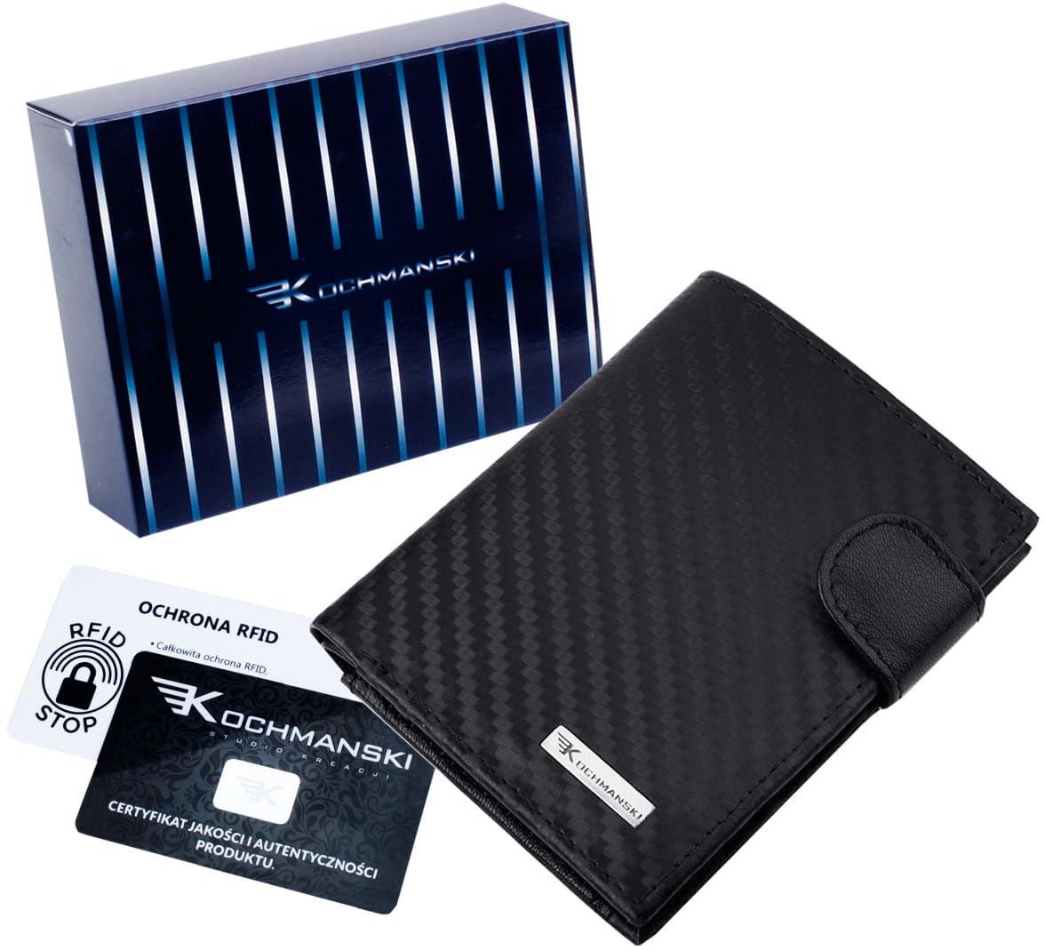 KOCHMANSKI mały, cienki skórzany portfel męski PREMIUM 3210