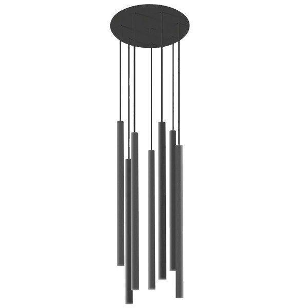 Lampa nad wyspę, nad stół LASER black VII Nowodvorski 8920 - RABATY w koszyku !!!