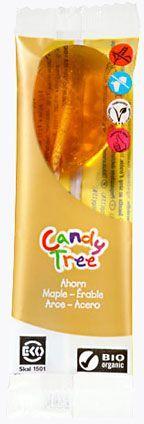 Lizaki o smaku klonowym bezglutenowe bio 13 g - candy tree