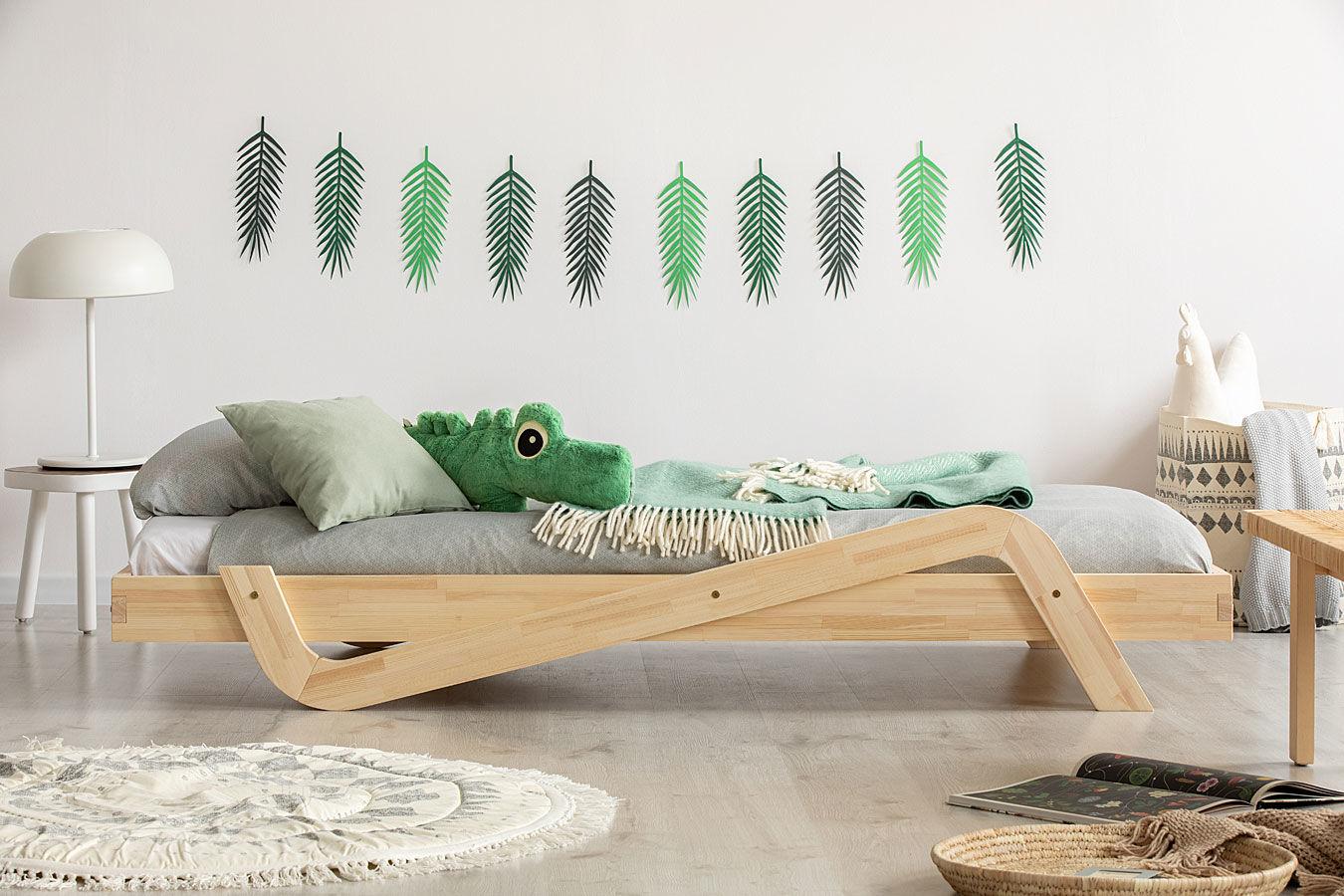 Drewniane łóżko dziecięce Miko 2X - 24 rozmiary