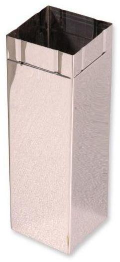 Rura do okapu KWADRATOWA 90 x 90 mm AKPO