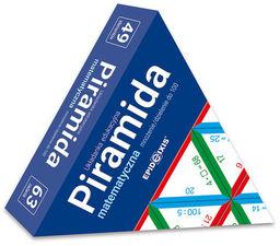 Piramida Matematyczna Mnożenie/dzielenie do 100 ZAKŁADKA DO KSIĄŻEK GRATIS DO KAŻDEGO ZAMÓWIENIA