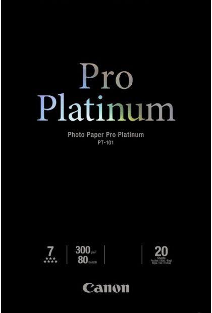 Papier CANON Pro Platinum PT-101 300 g/m2 - A3, 20 arkuszy (2768B017)