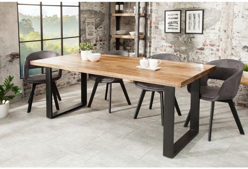 Stół drewniany Nori 200 cm Mango naturalny