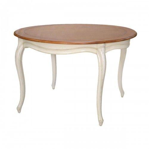 Stół okrągły na giętych nogach VERONA