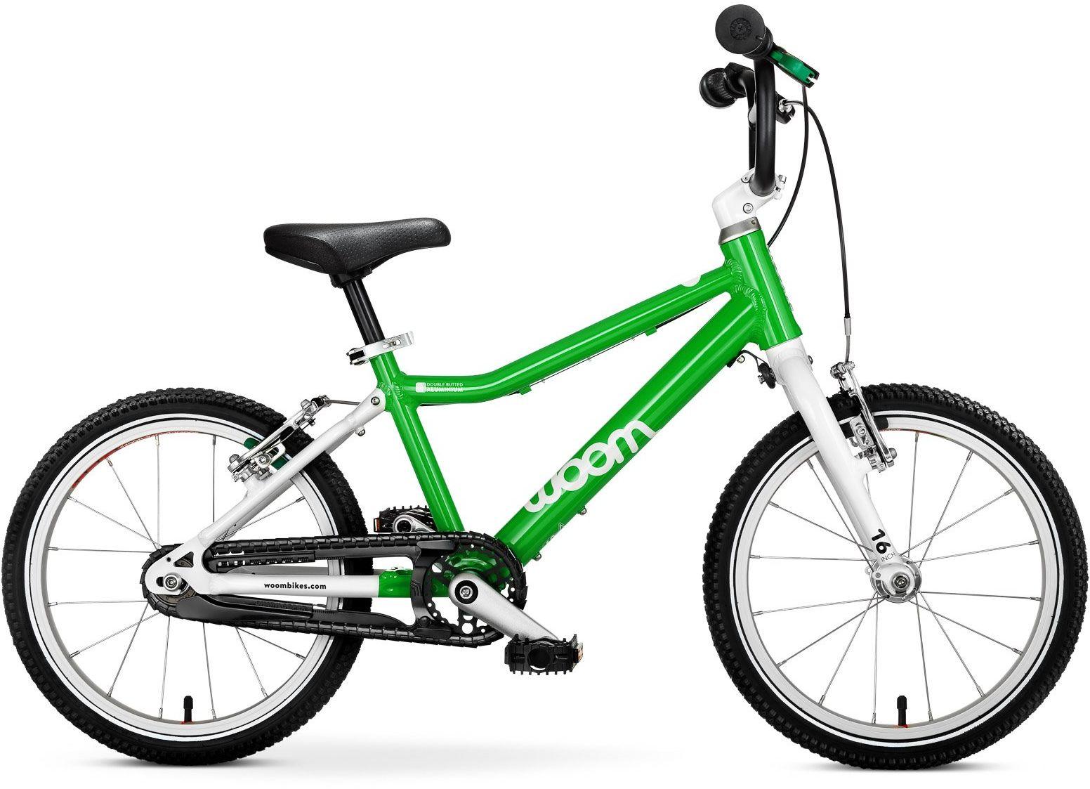 Woom 3 rower 16 cali green