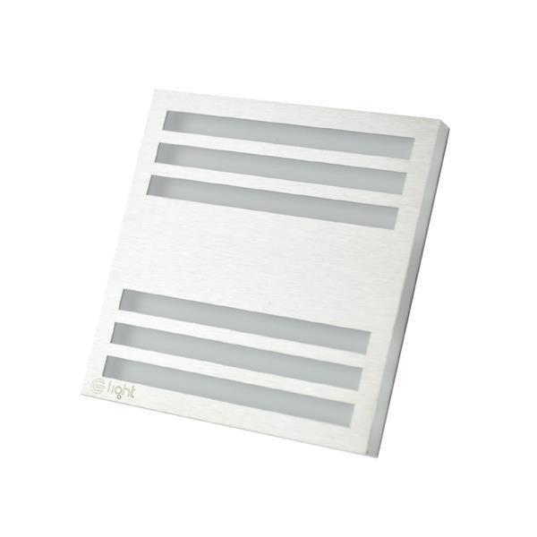 Oprawa schodowa LED 0,6W PEPERS barwa neutralna EKS0438