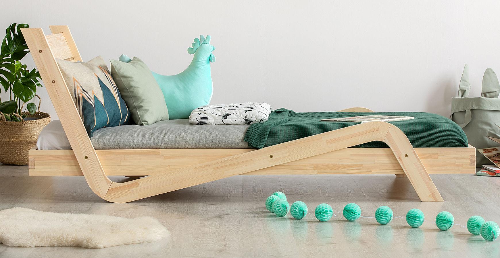 Łóżko dziecięce z zagłówkiem Miko 3X - 24 rozmiary