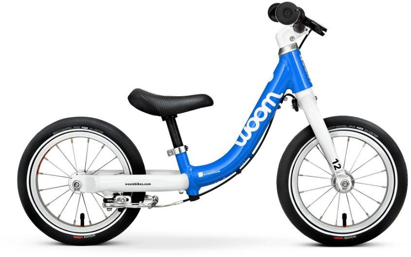 Woom 1 rower biegowy 12 cali blue