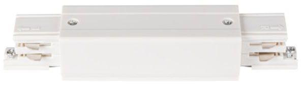 Elementy systemu szynowego TEAR łącznik prosty TEAR N CON-I W biały 33240
