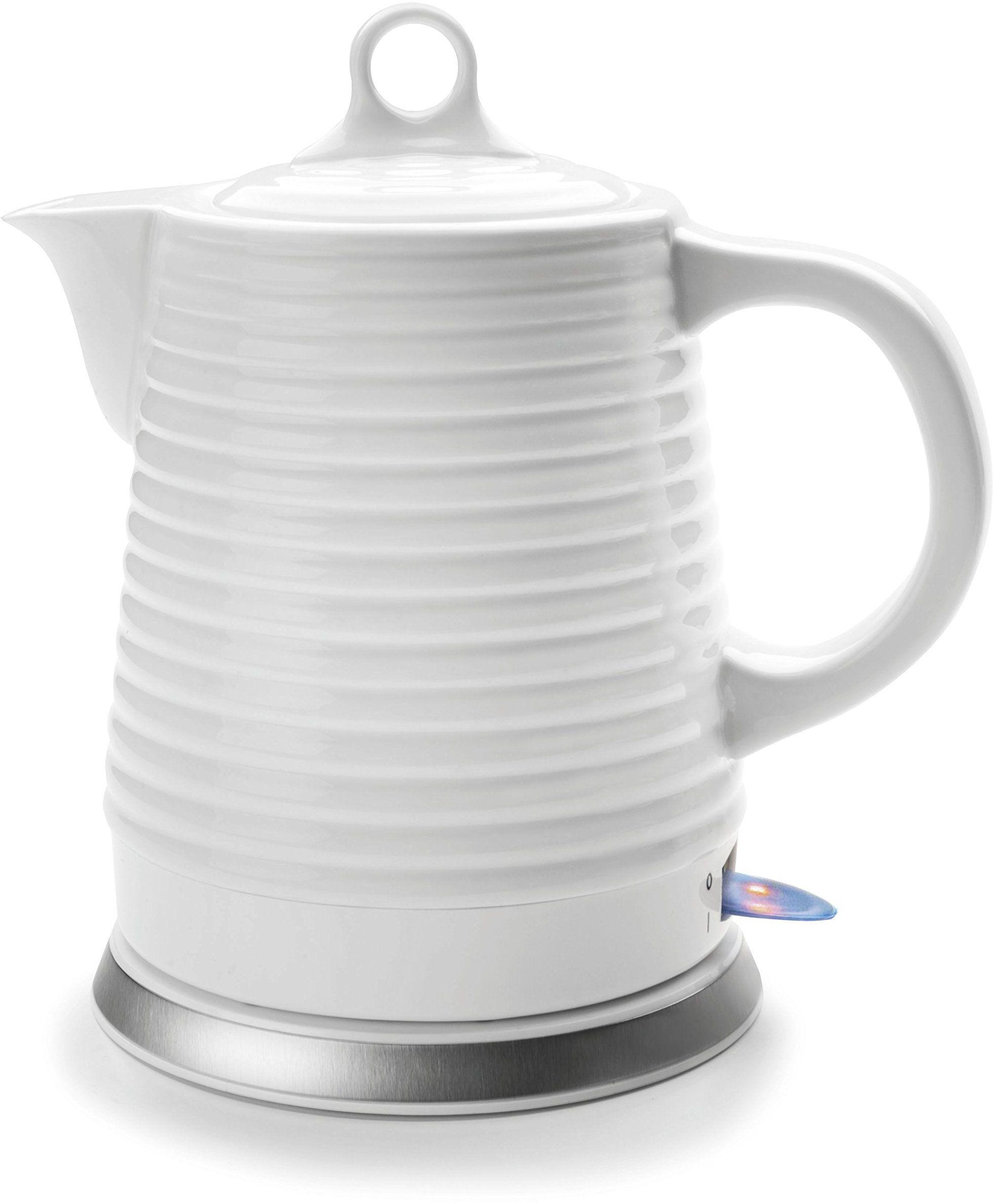 Lacor 69276 Gala ceramiczny czajnik elektryczny, biały