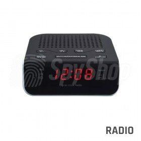 Ukryty podsłuch kwarcowy w radiobudziku