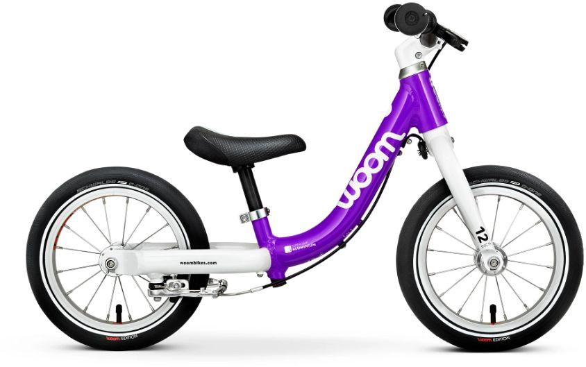 Woom 1 rower biegowy 12 cali purple