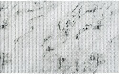 WENKO Marmur, 50 x 80 cm, mata łazienkowa, mata kuchenna, tworzywo sztuczne, wielokolorowa, 50 x 0 x 80 cm