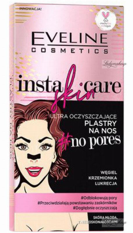 Eveline Cosmetics - INSTA SKIN CARE - Ultra oczyszczające plastry na nos - 2 szt.