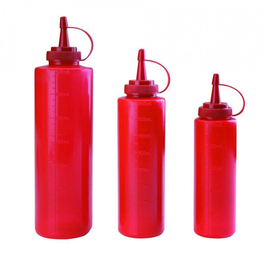 Dyspenser z miarką czerwony