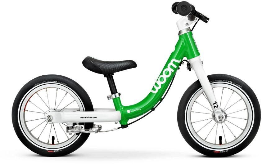 Woom 1 rower biegowy 12 cali green