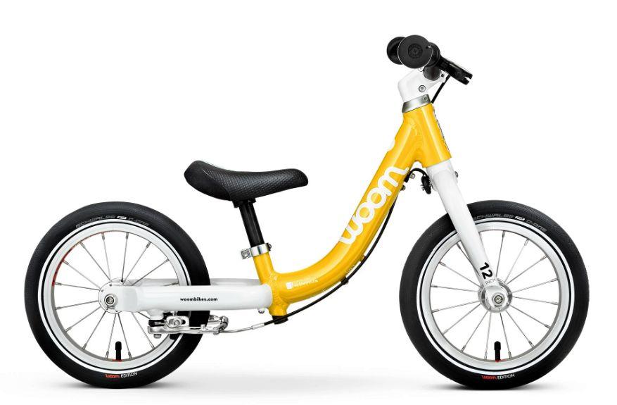 Woom 1 rower biegowy 12 cali yellow