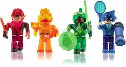 ROBLOX ROB0396 Super Doomspire zestaw 4 figurek z 4 figurkami, akcesoriami i kodem gry dla dzieci w wieku od 6 lat