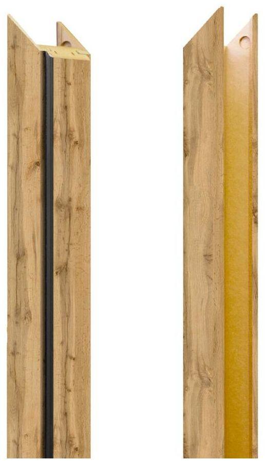 Baza ościeżnicy REGULOWANEJ do drzwi przesuwnych Dąb Wotan 80 - 100 mm NAWADOOR