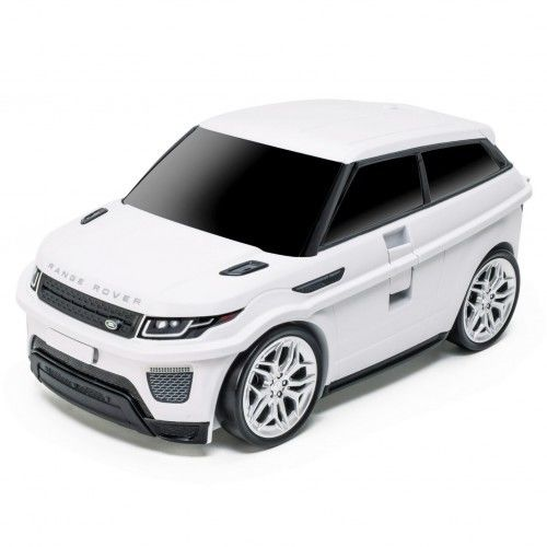 Land Rover - Range Rover - biały - Walizka samochód Welly Ridaz