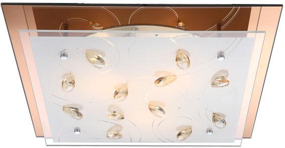 Globo plafon lampa sufitowa Ayana 40412-3 szkło kryształy K5 42cm