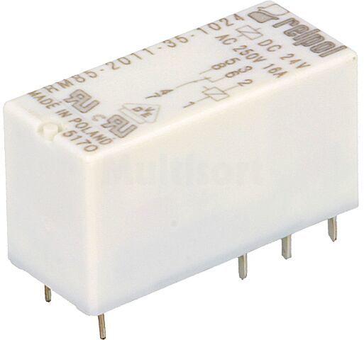 Przekaźnik: elektromagnetyczny; SPDT; Ucewki :24VDC; 16A/250VAC