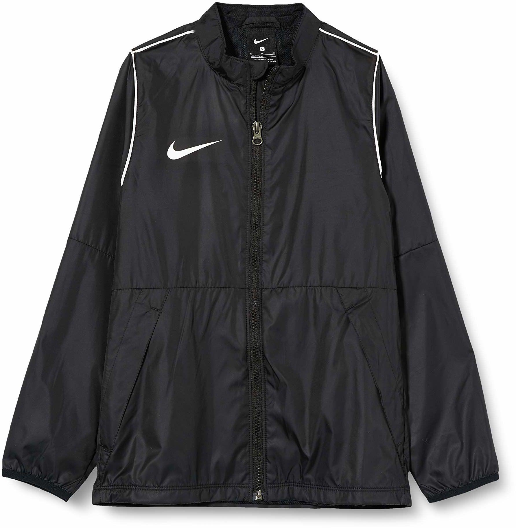 Nike Unisex dziecięca Y Nk Rpl Park20 Rn Jkt W kurtka sportowa Czarny/Biały/Biały M