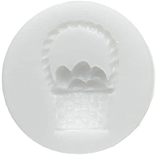 Silikomart 71.310.00.0096 forma do pieczenia ciasta SLK210 wielkanocny koszyczek silikonowy, biała