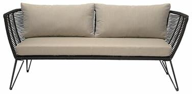 Sofa ogrodowa MUNDO czarna Bloomingville