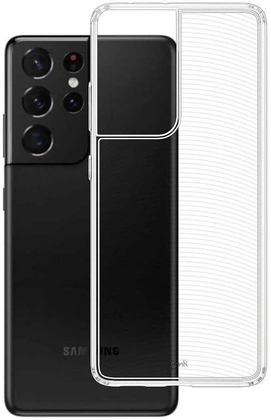 Pancerne etui Armor Case 3mk do Samsung Galaxy S21 Ultra Przezroczyste