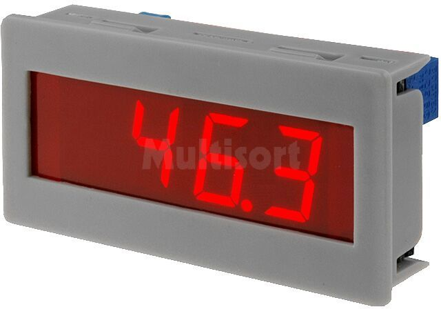 Panelowy miernik napięcia DC; LED 3,5 cyfry 14mm; V DC:0 200mV