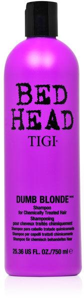 Tigi Bed Head Dumb Blonde Szampon dla blondynek 750 ml