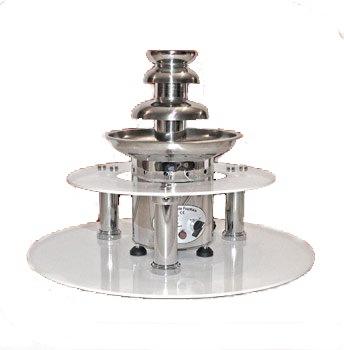 Podest do fontann czekoladowych CF51 PRO/CF65 PRO /Chocalo 60/Chocalo 80 śr. 700x(H)200mm