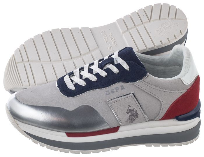 Sneakersy U.S. Polo Assn. Amy Suede-Whi-Blu CHER4195S0/SY1 (US19-a)