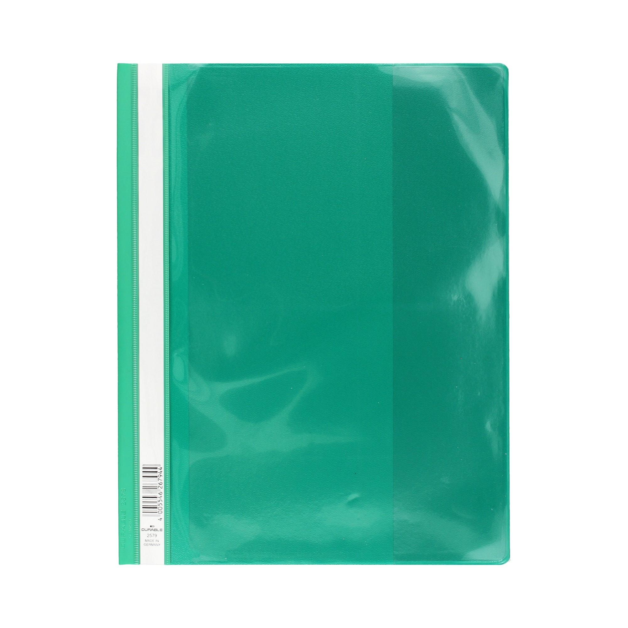 Skoroszyt prezentacyjny A4/PP zielony Durable