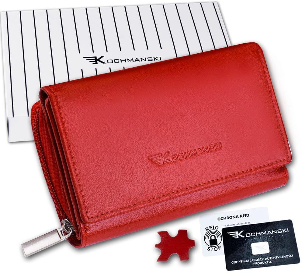 KOCHMANSKI portfel damski skórzany 4309